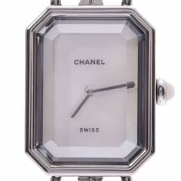Chanel Shell Stainless Steel and Leather Premiere Women's Wristwatch 20x26MM 239744