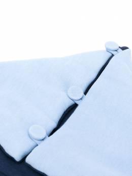 Emporio Armani Kids дутый конверт для новорожденного 6GHL044JHDZ0755