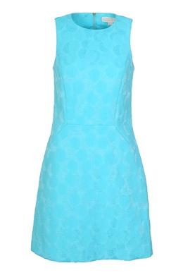 Голубое платье с узором MICHAEL Michael Kors 984162712