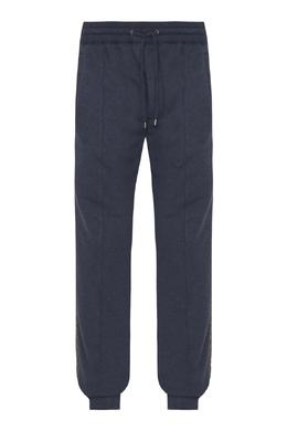 Серые трикотажные брюки с лампасами Etro 907158918