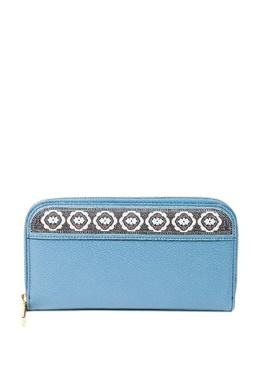 Голубой кожаный кошелек Etro 907158884