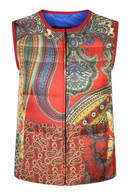 Пуховой жилет с красочными узорами Etro 907159076