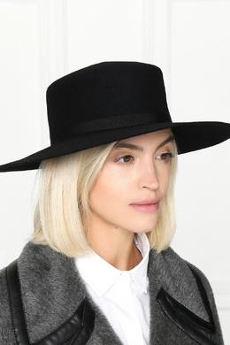 Черная шляпа из шерсти Alberta Ferretti 1771163292