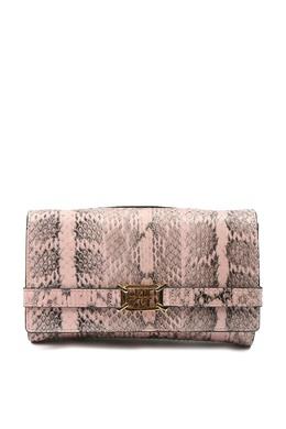 Розовый клатч с анималистическим принтом Alberta Ferretti 1771163237