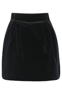 Черная юбка из бархата Alberta Ferretti 1771163337