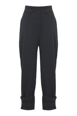 Черные брюки с отделкой Alberta Ferretti 1771163338