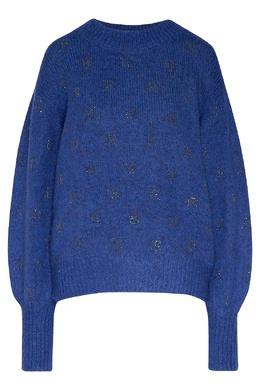 Синий джемпер с отделкой John Richmond 2678162901