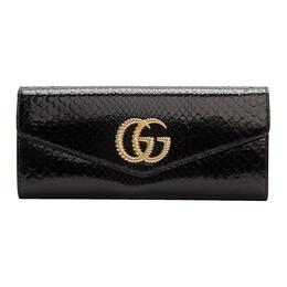 Gucci Black Snake GG Broadway Clutch 192451F04400301GB