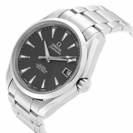 Omega Grey and Stainless Steel Seamaster Aqua Terra 231.10.39.21.06.001 Men's Wristwatch 39MM 240150