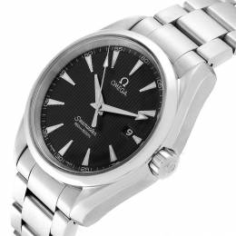 Omega Gray and Stainless Steel Seamaster Aqua Terra 231.10.39.61.06.001 Men's Wristwatch 38.5MM 240157