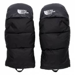 The North Face Black Down Nuptse Mittens 192802M13500603GB