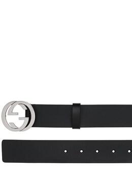 Кожаный Ремень С Фирменной Пряжкой 37mm Gucci 71IGZF021-MTAwMA2