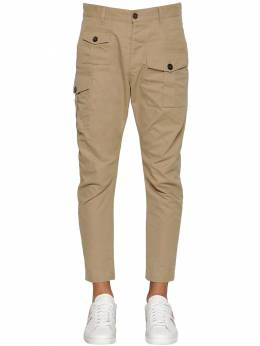 16cm Sexy Cargo Cotton Twill Pants Dsquared2 71IG7E111-MTE00