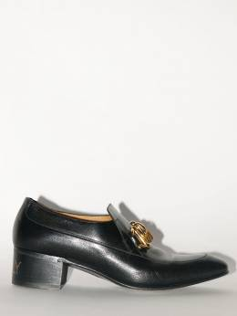50mm Chain Leather Loafers Gucci 70IXFZ021-MTAwMA2