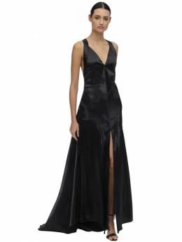Платье Из Атласа Philosophy Di Lorenzo Serafini 70I3KN034-MDU1NQ2