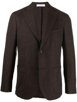 Boglioli однобортный пиджак стандартного кроя N6302EBPC1240950