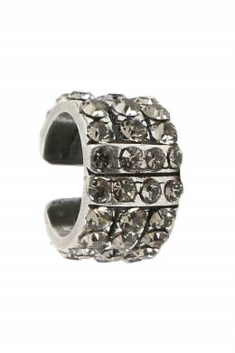 Серебристый кафф с кристаллами Etro 907163710
