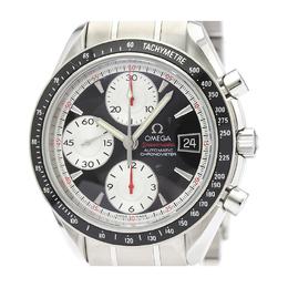 Omega Black Stainless Steel Speedmaster Date 3210.51 Men's Wristwatch 39MM 241613