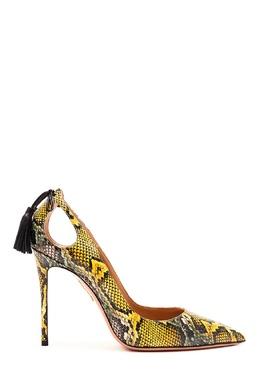 Туфли из змеиной кожи Forever Marilyn 105 Aquazzura 975163174