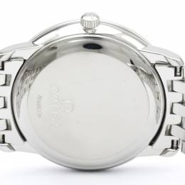 Omega Silver Stainless Steel De Ville Prestige 4500.31 Men's Wristwatch 34MM 242216
