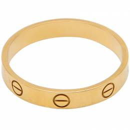 Cartier Love Yellow Gold Ring Size 62 241752