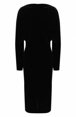 Шелковое платье Alaia 9W9R800RT232