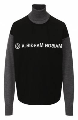 Шерстяной пуловер Mm6 Maison Margiela S32HA0534/S16875