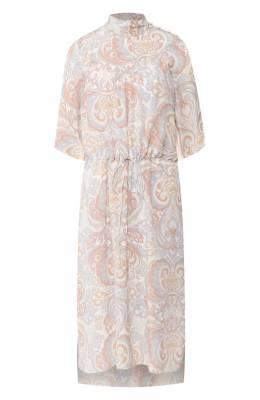 Шелковое платье See By Chloe CHS19AR018027