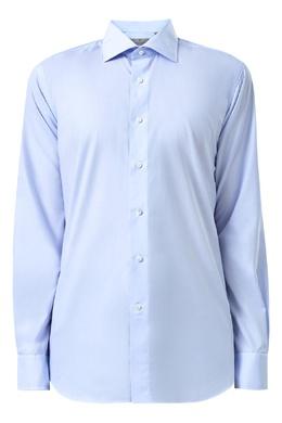 Рубашка голубого цвета Canali 1793162371