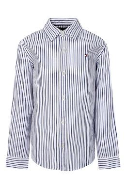 Полосатая рубашка с длинным рукавом. Tommy Hilfiger Kids 2646163922
