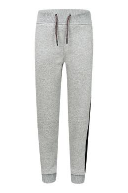 Серые цветные брюки с лампасами Tommy Hilfiger Kids 2646164202