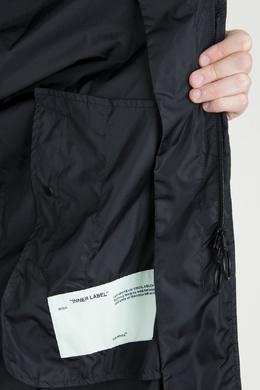 Черный плащ с капюшоном Off-White 2202164436