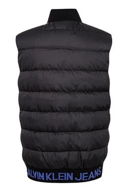 Черный жилет с карманом и надписью Calvin Klein Kids 2815164169