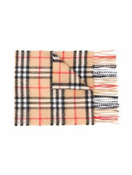 Burberry Kids клетчатый шарф 8015162