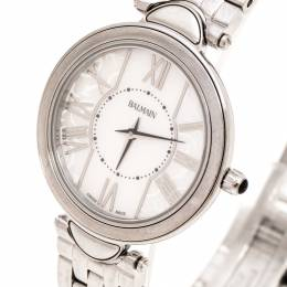 Balmain White Mother of Pearl Stainless Steel Haute Elegance B8071.33.83 Women's Wristwatch 27MM 243285