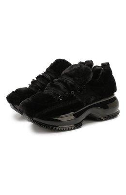 Текстильные кроссовки Hogan GYW4920CH60M6Q