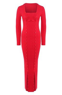 Платье из вискозы Jacquemus 194KN10/07440