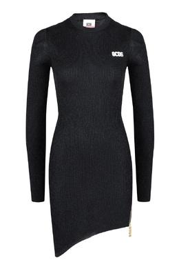 Черное платье с люрексом GCDS 2981165027