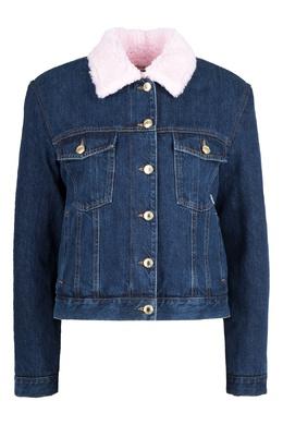 Джинсовая куртка с отделкой GCDS 2981165023