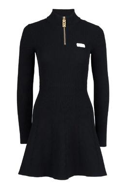 Черное вязаное платье GCDS 2981165021