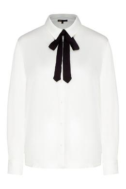 Белая блуза с длинными рукавами Maje 888164538