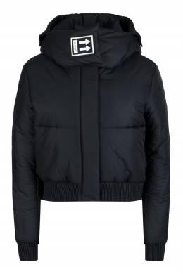 Черная стеганая куртка с логотипом Off-White 2202165085