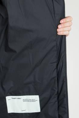 Черное стеганое пальто Off-White 2202165087