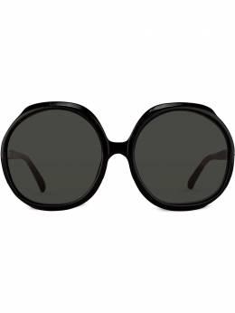 Linda Farrow солнцезащитные очки в массивной круглой оправе LFL417C1SUN
