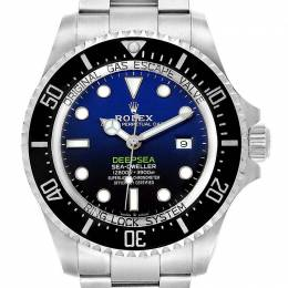 Rolex Blue Stainless Steel Seadweller Deepsea 126660 Men's Wristwatch 44 MM 241468