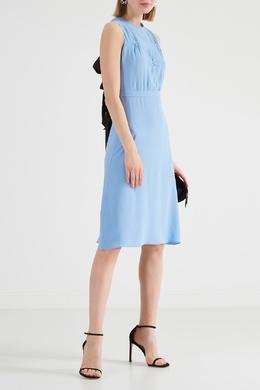 Голубое платье миди без рукавов No. 21 35124995