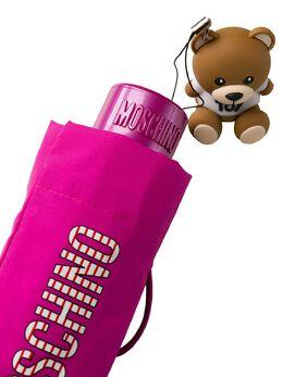 Moschino зонт с принтом и декором Teddy 8052SUPERMINIJ