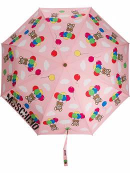 Moschino зонт с принтом Teddy и логотипом 8140OPENCLOSEN