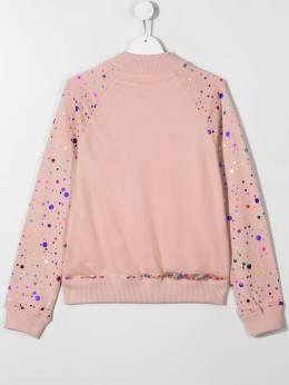 Stella McCartney Kids куртка-бомбер 569849SNJF4R