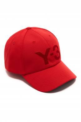 Красная бейсболка с вышитым логотипом Y-3 1044163950